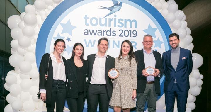 """Βράβευση στα Tourism Awards 2019 για το Project """"#My_Andros"""""""