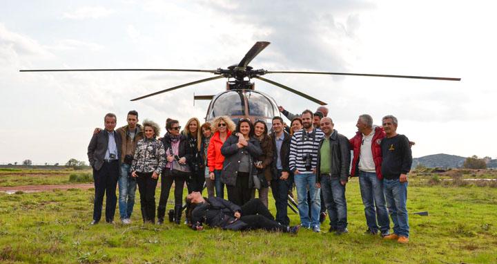 Αεροφωτογράφιση με ελικόπτερο