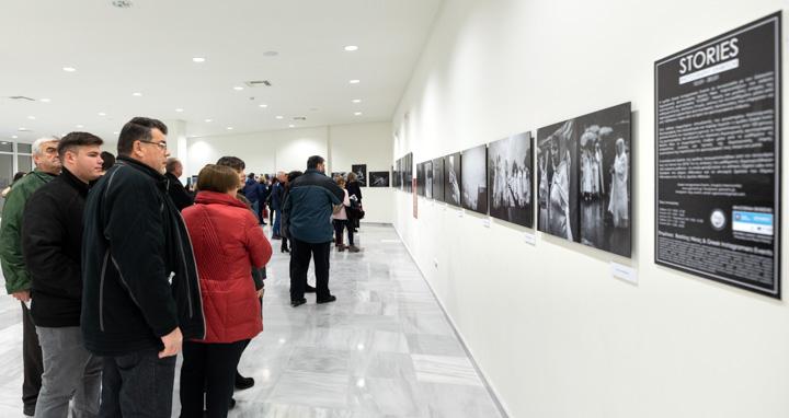"""Εγκαίνια έκθεσης καλλιτεχνικής φωτογραφίας """"Stories"""""""
